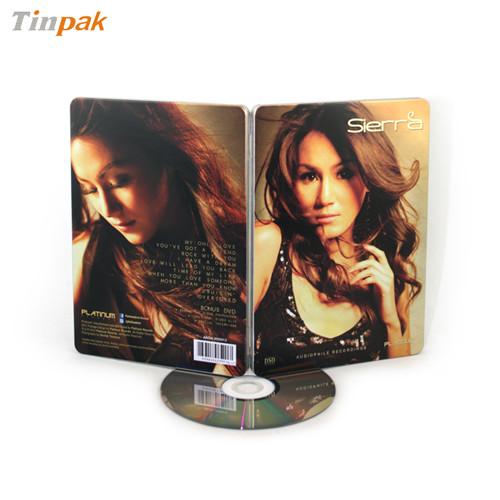 DVD碟片金属盒|个性创意DVD铁盒