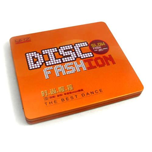 迪斯科音乐CD铁盒 金属迪斯科音乐CD盒
