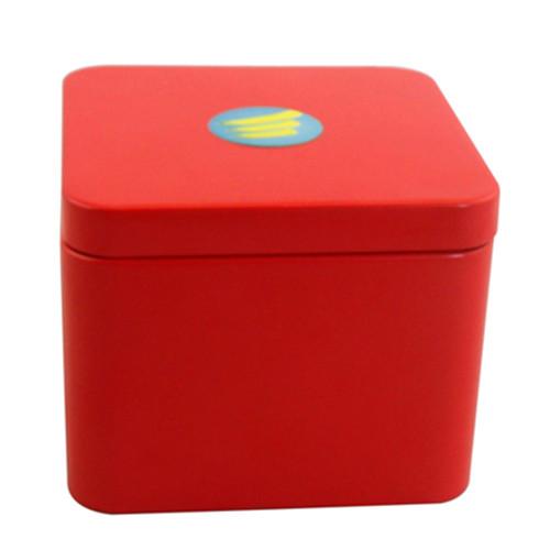 高档方形端午粽子包装铁盒定制