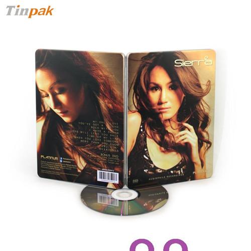 音乐CD铁盒|东莞专业音乐CD铁盒厂家