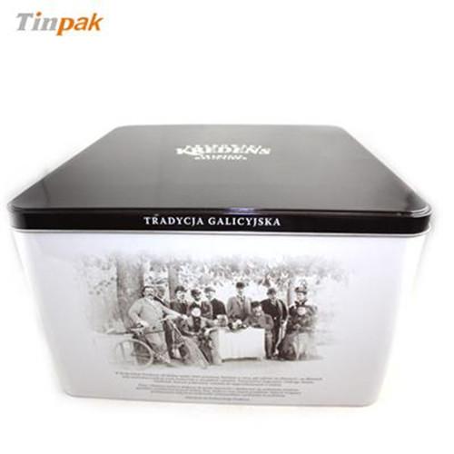 青茶茶叶铁包装盒