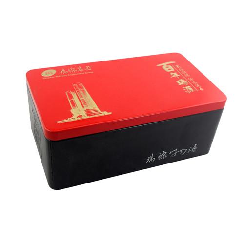 出口方形天麻铁盒子|金属天麻铁盒定制工厂