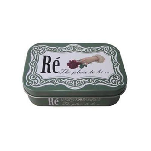 仙人掌茶铁盒