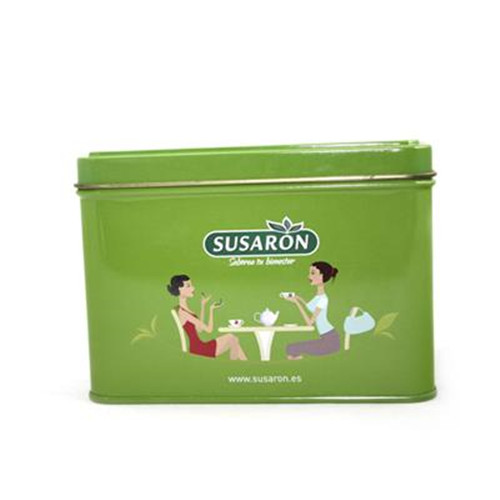 东莞绿茶茶叶马口铁盒包装定制