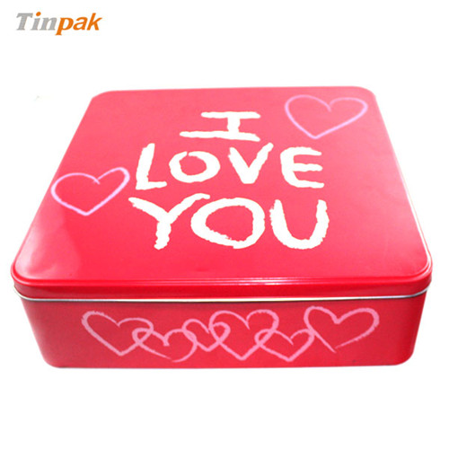 香皂花创意礼品铁盒|创意情人节礼品铁盒