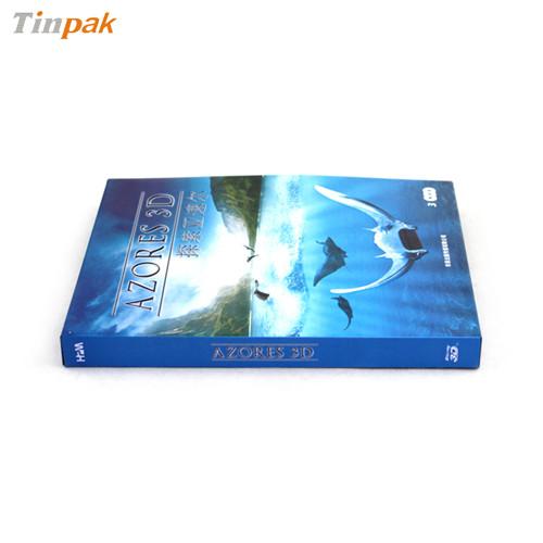 探索亚速尔蓝光铁盒 蓝光DVD铁盒生产厂家