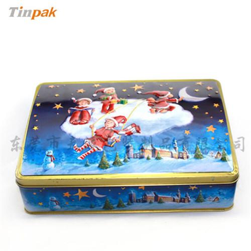 圣诞糖果铁盒|糖果礼品铁罐
