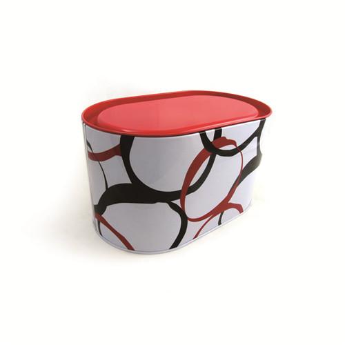 创意椭圆形端午粽子马口铁盒定制