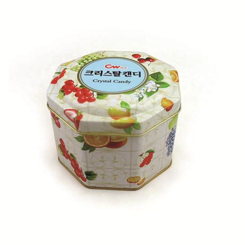 厂家定做八角形蛋白粉马口铁包装盒