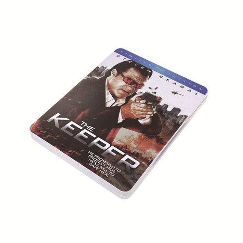美国《保镖》蓝光铁盒 蓝光DVD铁罐