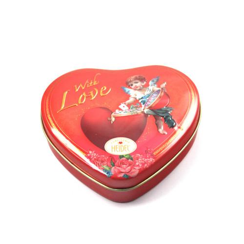 德芙巧克力铁盒|心形巧克力铁盒