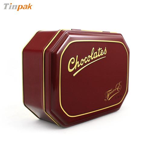 八边形巧克力铁盒东莞厂家直销
