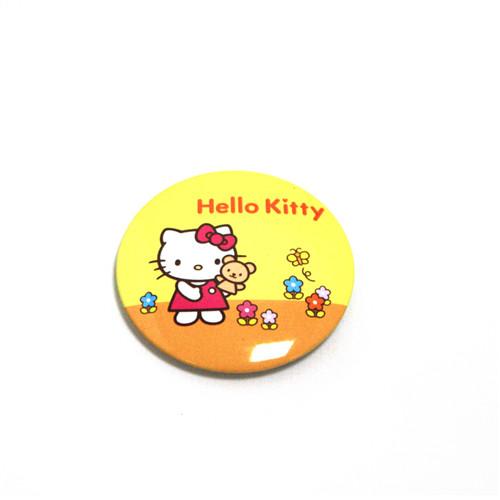 东莞定制马口铁徽章|KITTY猫马口铁胸章