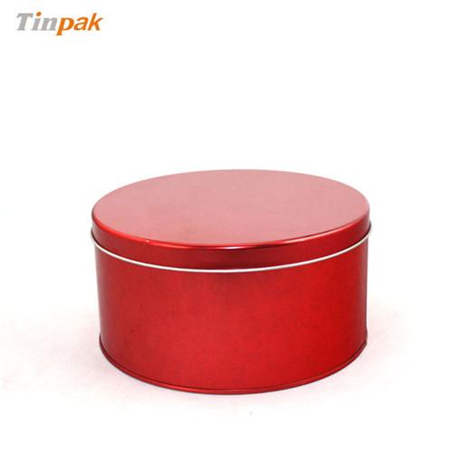 厂家定做圆形天麻包装铁罐