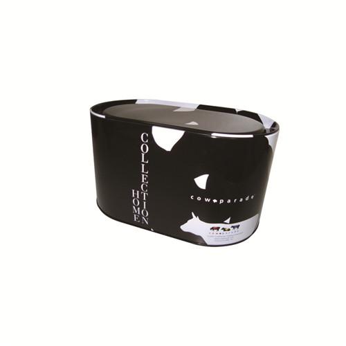 厂家生产定做椭圆形大米马口铁盒