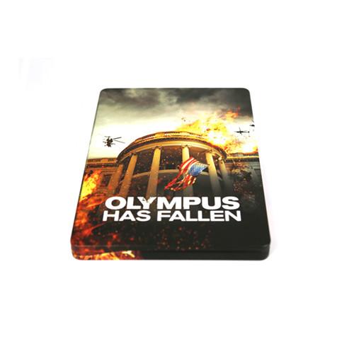 占领白宫电影DVD铁盒|白宫未日电影DVD外包装铁罐