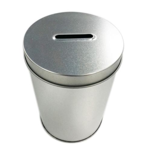 定制圆形存钱铁罐子