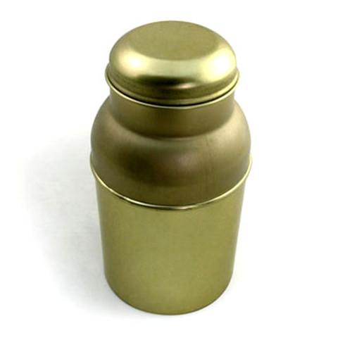 创意螺旋藻颗粒铁罐子