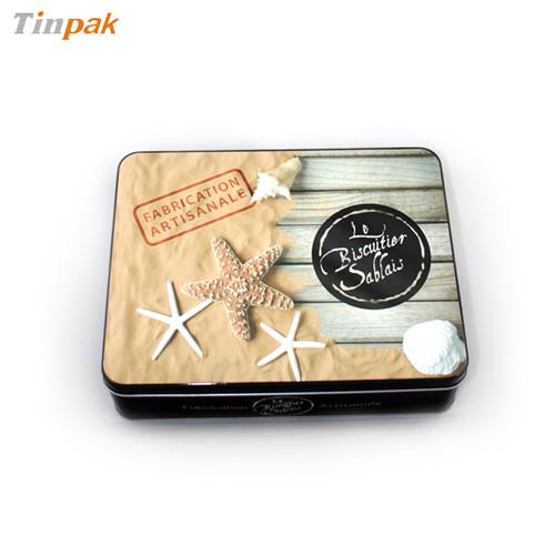 奶油饼干金属包装盒|奶油饼干马口铁盒|奶油饼干铁盒