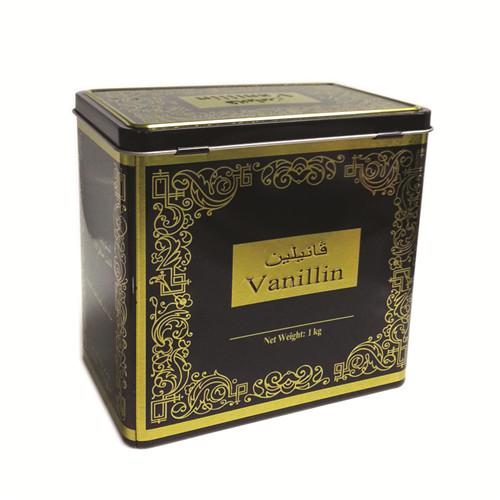 长方形翻盖式黑茶茶叶铁盒订制