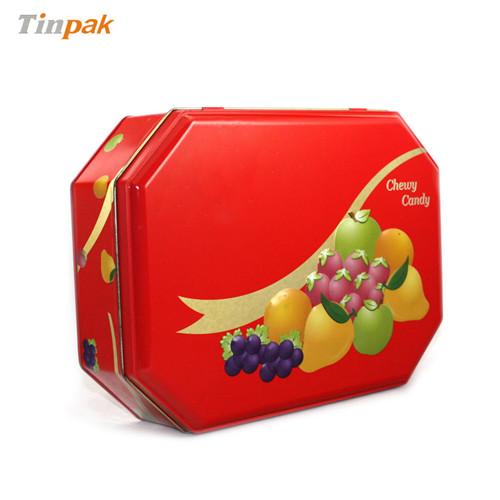高档饼干马口铁盒|饼干金属盒|饼干铁盒定制