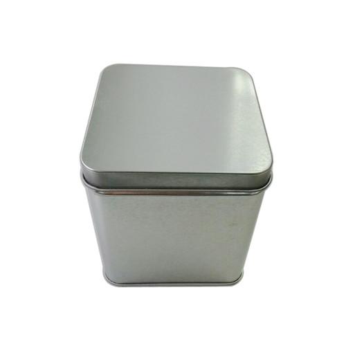 方形光铁白茶茶叶铁盒定制厂家