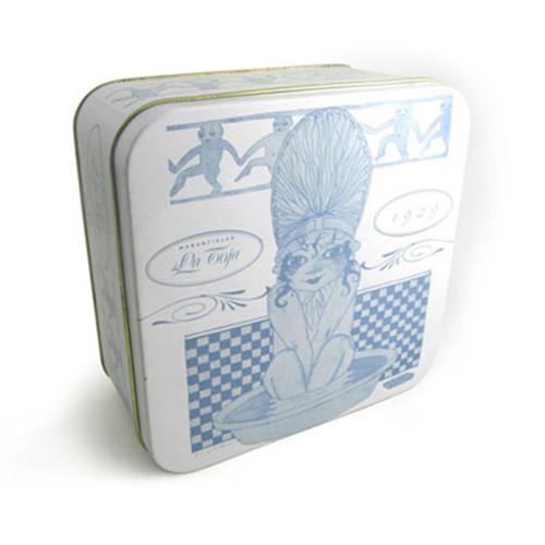 马口铁金花六堡茶砖罐子公司