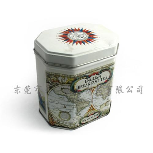 八角形罐心饼铁盒东莞厂家定制