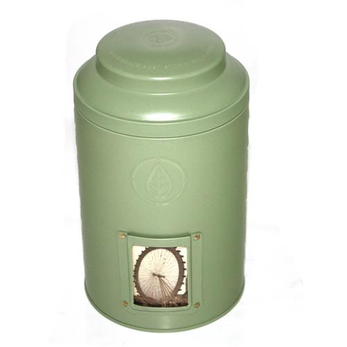 厂家定制圆形普洱茶叶铁罐