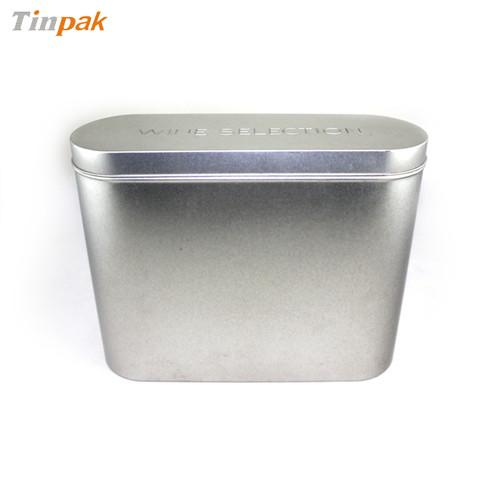 铁质大号纸皮核桃罐子,高档纸皮核桃铁罐