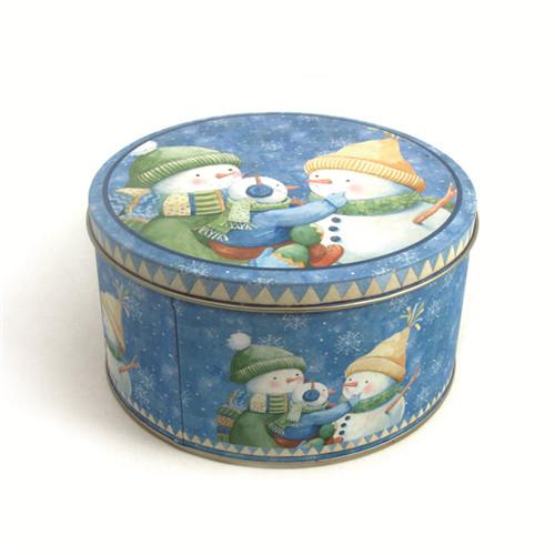 高档圆形开口榛子铁罐子印铁制罐工厂