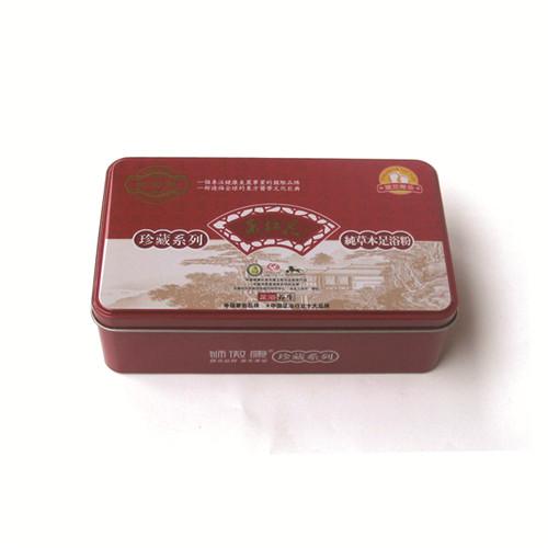 新疆雪莲包装铁盒 新疆雪莲金属盒定制 新疆雪莲马口铁盒厂家