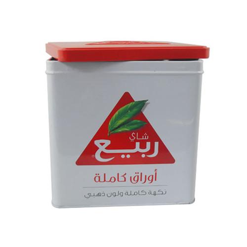 高品质方形红茶茶叶铁罐定做