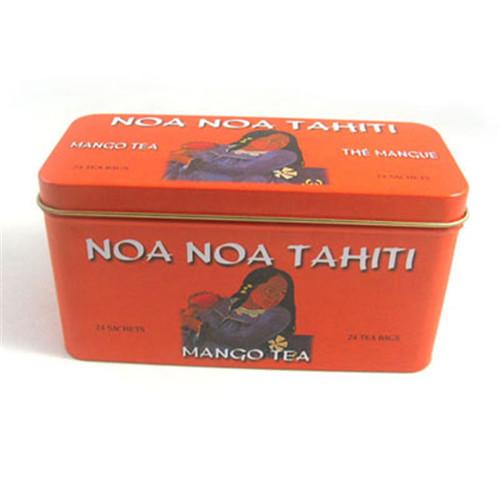 铁质方形保健茶茶叶包装罐定做