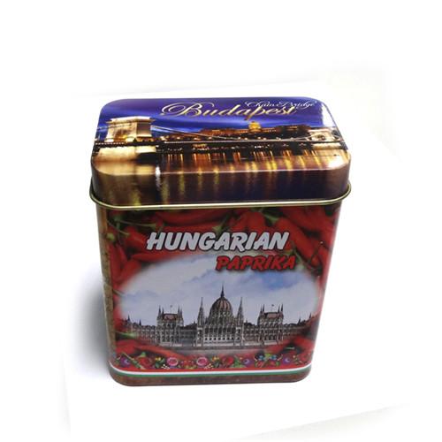 欧式贡眉茶铁盒子|供应方形贡眉茶铁盒