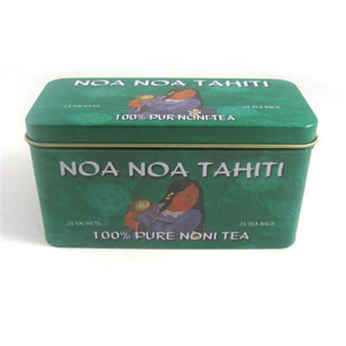 长方形绿茶茶叶铁皮盒定做厂