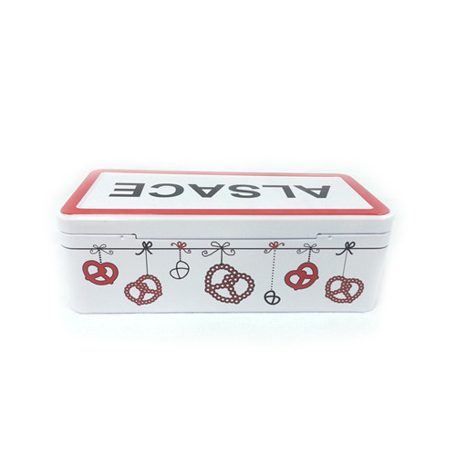 生产定制大量长方形夹心糖果马口铁盒 糖果金属盒