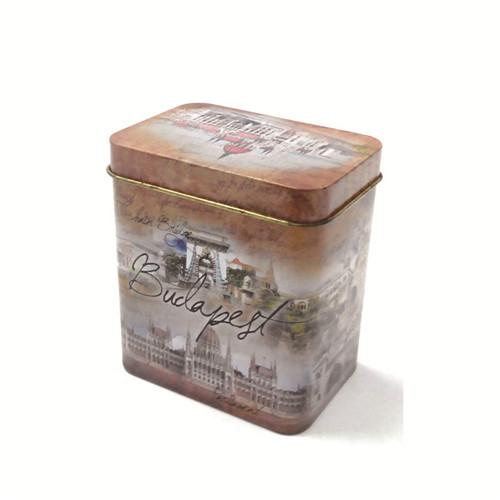 热销信阳毛尖茶包铁盒子|铁质信阳毛尖茶包盒