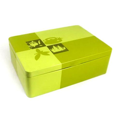 铁质降血脂绿茶包装盒定做工厂