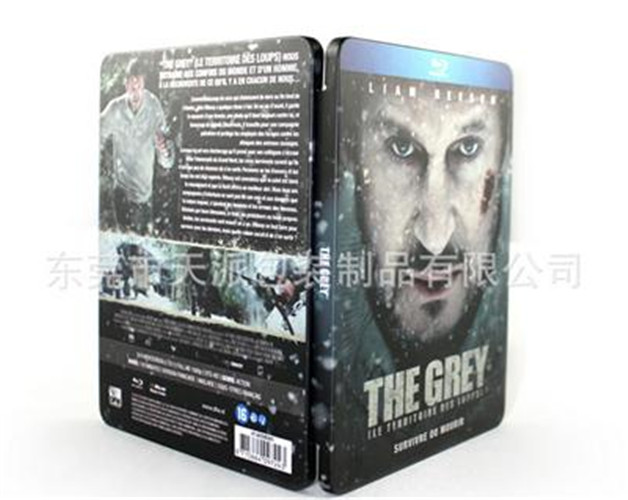 人狼大战电影DVD包装铁盒|光碟包装盒
