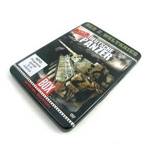 优质电影DVD包装铁盒铁罐