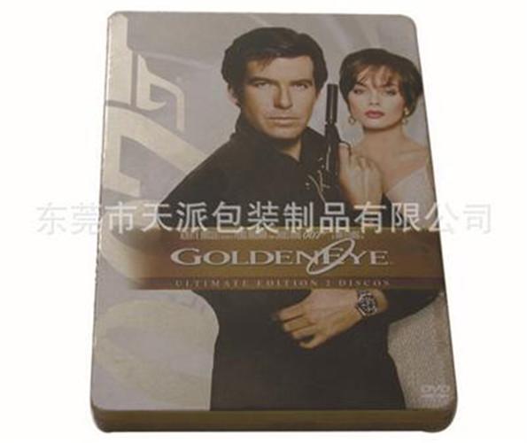 007电影DVD包装铁盒