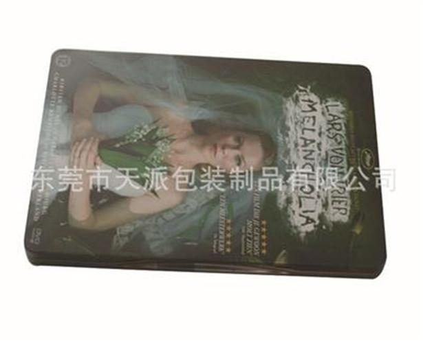 欧美爱情电影DVD包装铁盒铁盒