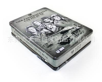 美国战争片DVD包装铁盒