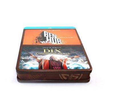 3D魔幻电影DVD包装铁盒