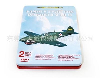 飞机模型介绍DVD包装铁盒