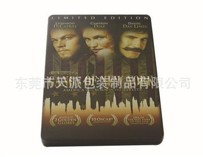 欧美历史战争电影DVD包装铁盒