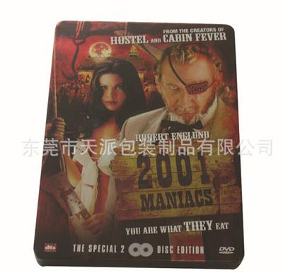 欧美暴力恐怖片光碟DVD包装铁盒