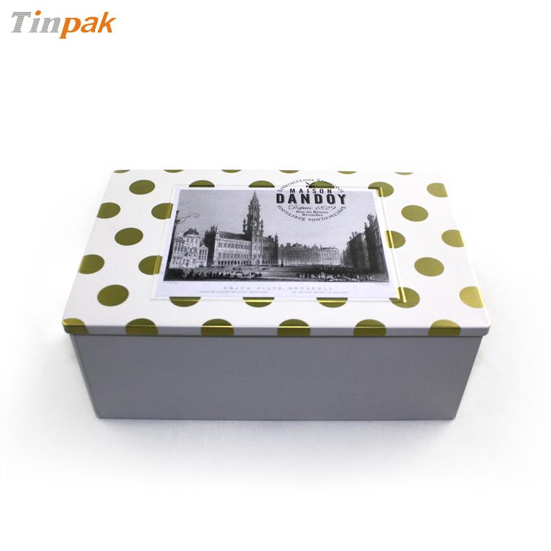 深圳高档复活节食品包装礼品铁盒子 欧洲风复活节礼品铁盒