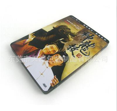 周星驰系列电影光碟DVD包装铁盒